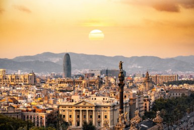 Barcelona, ​​a holiday destination