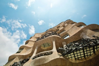 La Pedrera, one of the most popular buildings in Barcelona
