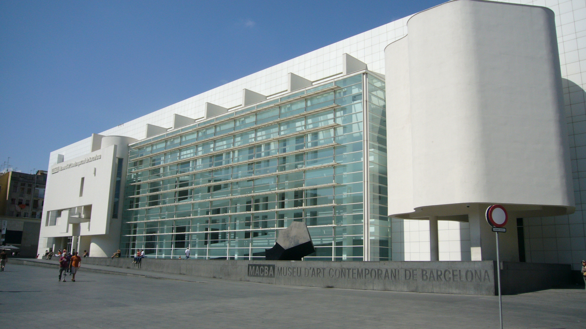 A date for art lovers: Museum of Contemporary Art Barcelona
