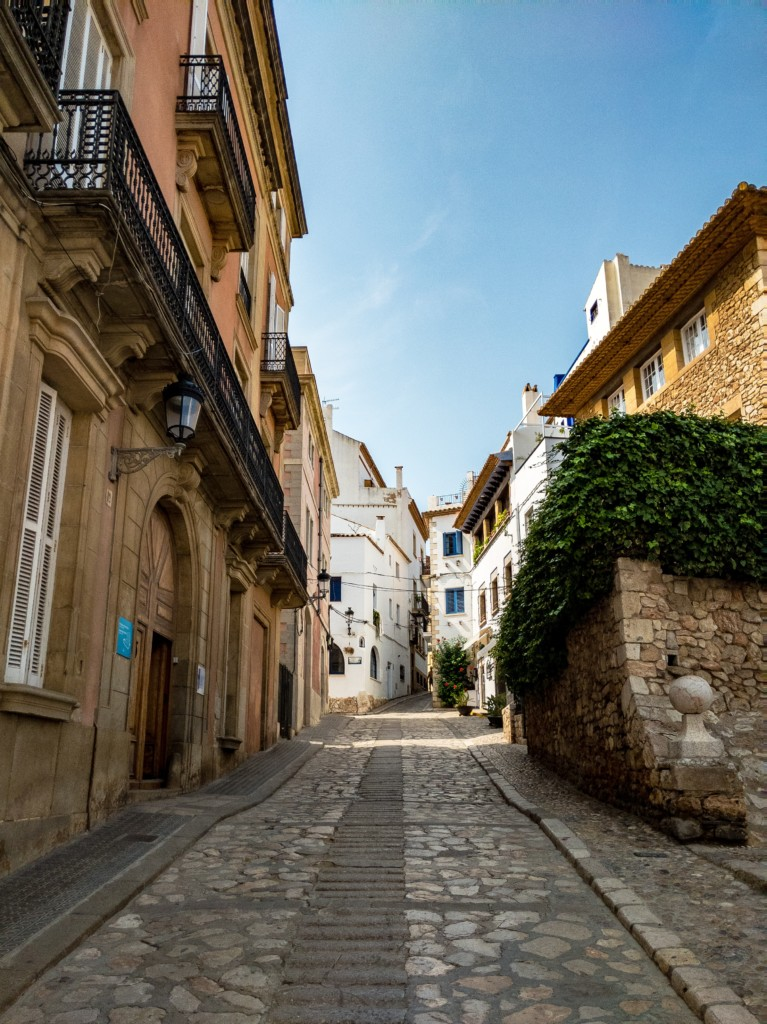 Sitges in Spain old town