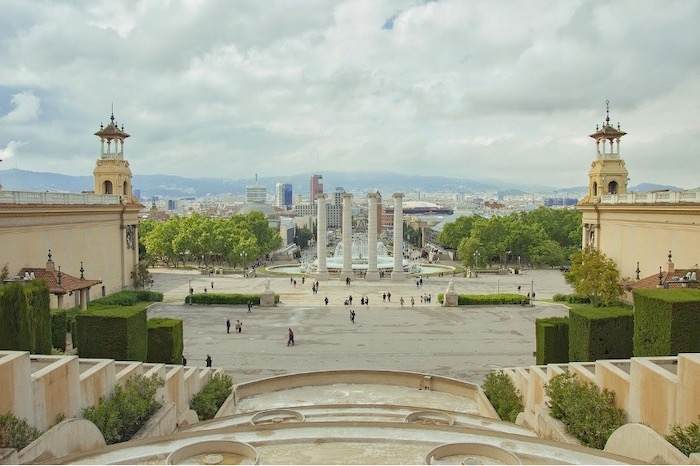 Montjuic Hill: one of the best routes to cycling in Barcelona